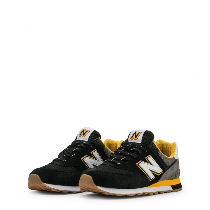 NEW BALANCE ML574SKA Black / Grey / Yellow 1