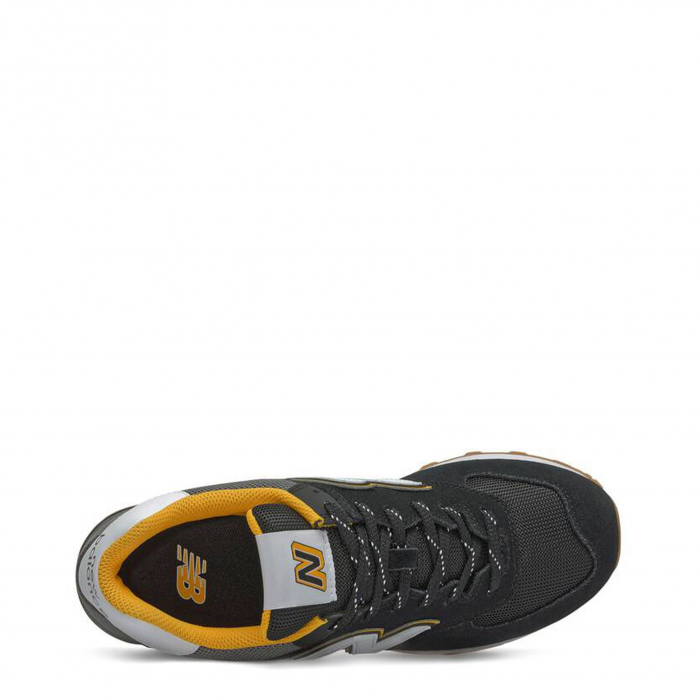 NEW BALANCE ML574SKA Black / Grey / Yellow 2