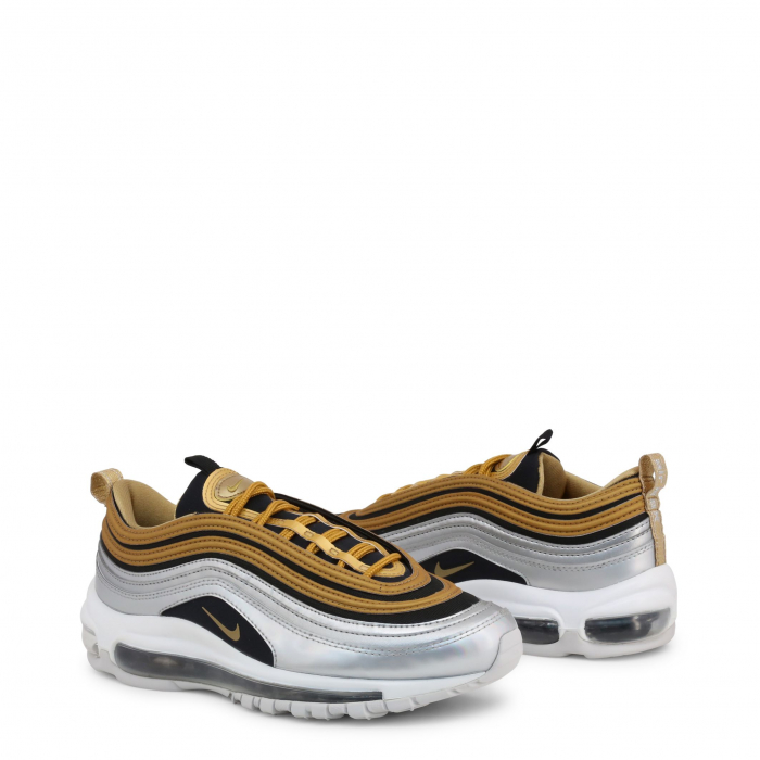 NIKE W Air Max 97 Metallic Gold / Metallic Silver / Black / White 1