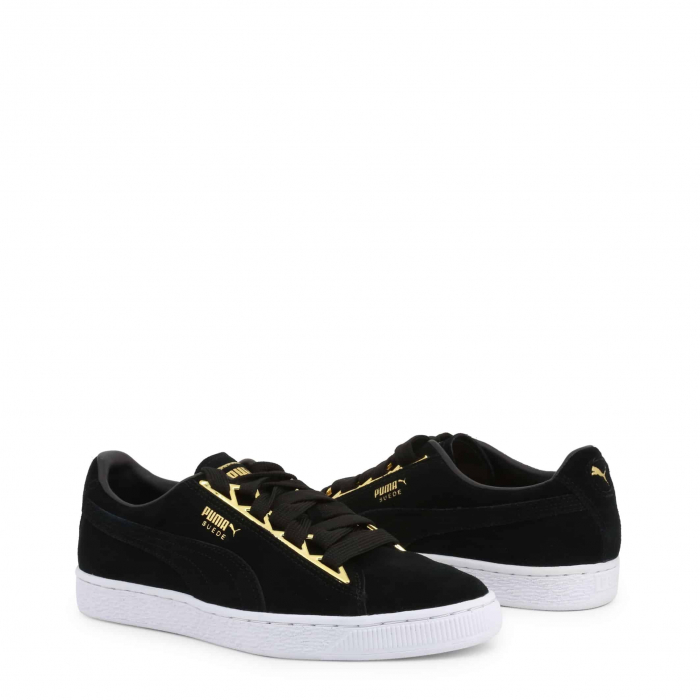 PUMA Suede Jewel 366725 Black 1