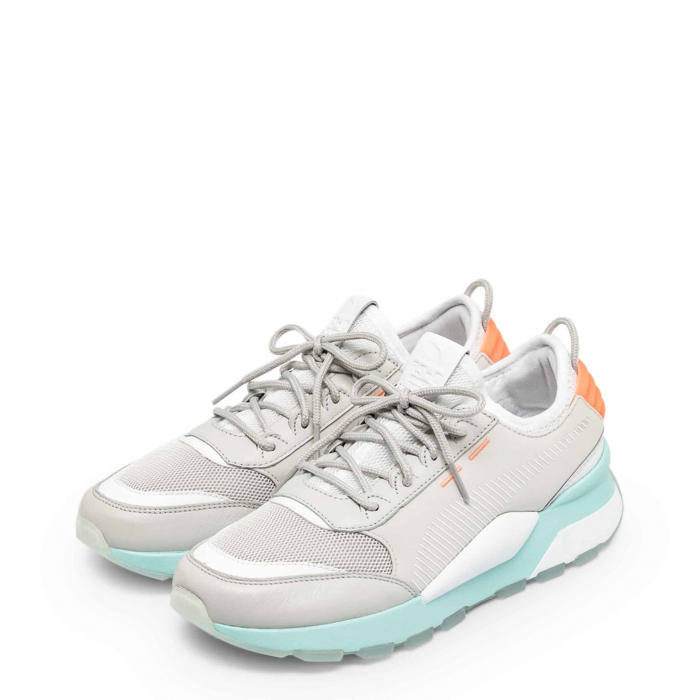 PUMA Tracks 369362 Grey / Blue / Orange 1