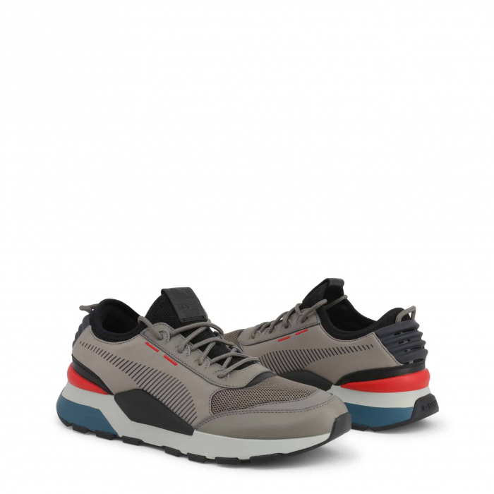 PUMA Tracks 369362 Grey / Red / Blue 1