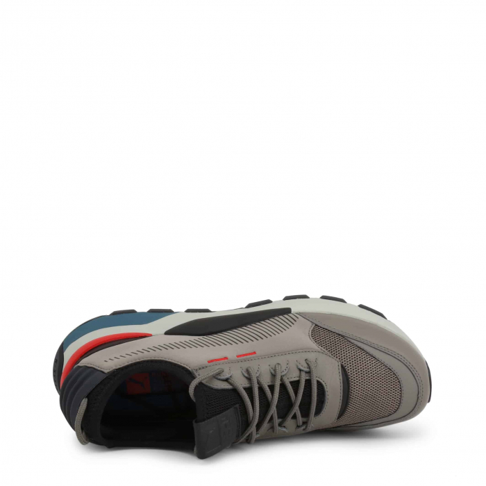 PUMA Tracks 369362 Grey / Red / Blue 2