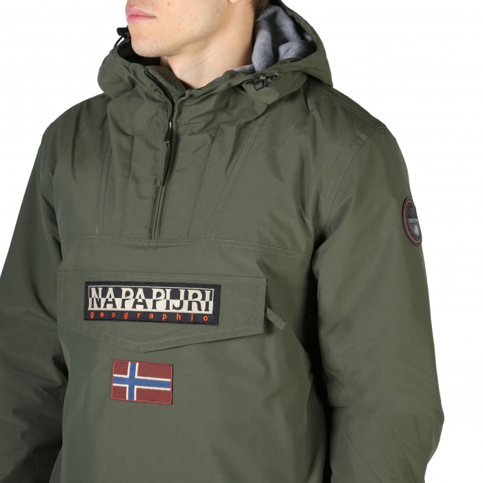 NAPAPIJRI Rainforest Jacket Deep Green 2