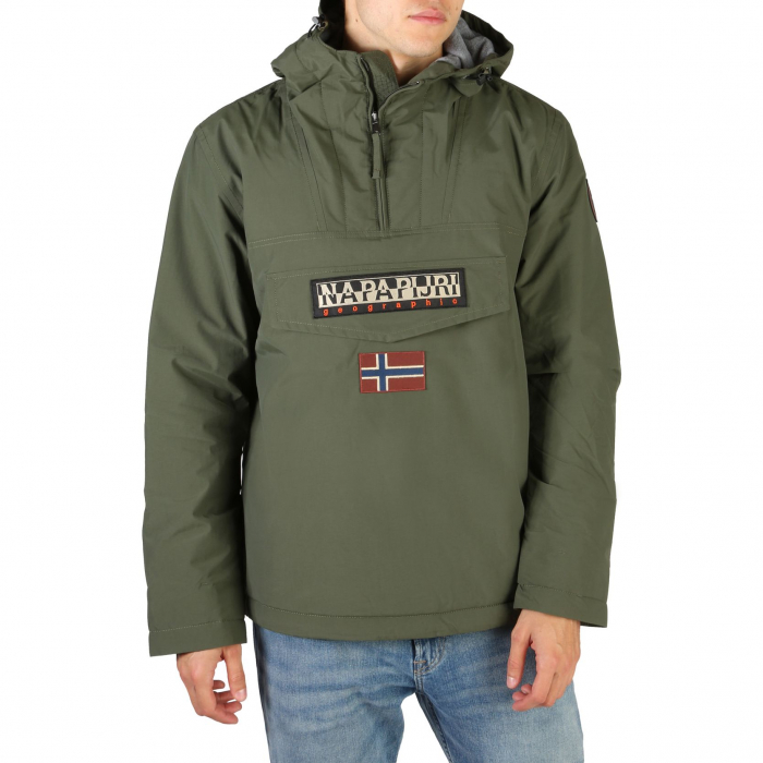 NAPAPIJRI Rainforest Jacket Deep Green 0