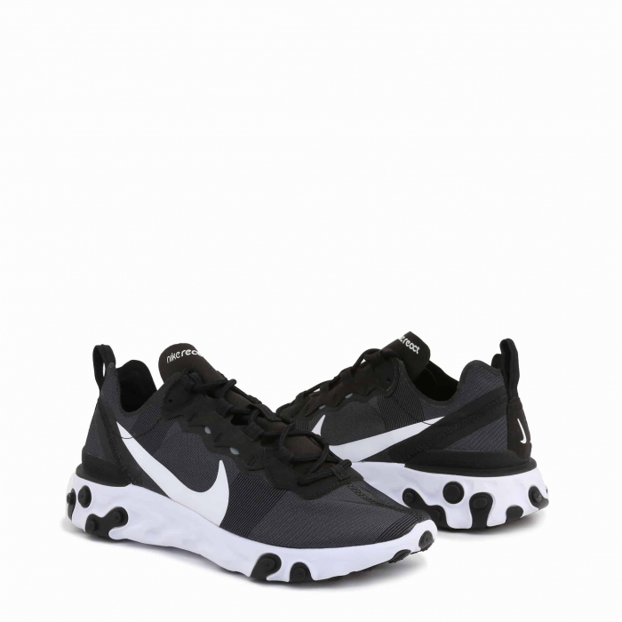 NIKE W React Element 55 Black / White 1