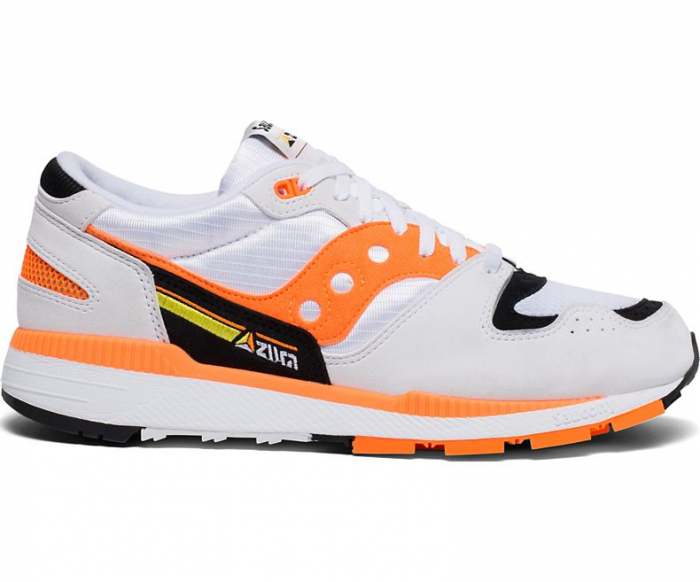 SAUCONY AZURA WHITE/ORANGE/BLACK 0