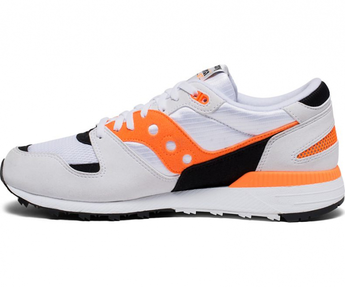 SAUCONY AZURA WHITE/ORANGE/BLACK 1