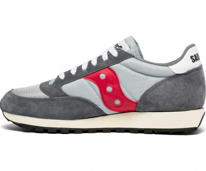 SAUCONY JAZZ ORIGINAL VINTAGE GREY/RED 1