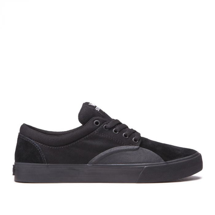 SUPRA CHINO BLACK/BLACK-WHITE 0
