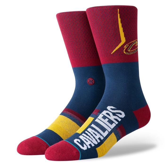 STANCE NBA Arena Cavs Shortcut Maroon 0