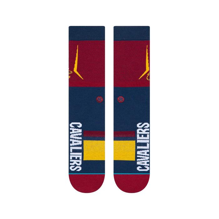 STANCE NBA Arena Cavs Shortcut Maroon 1