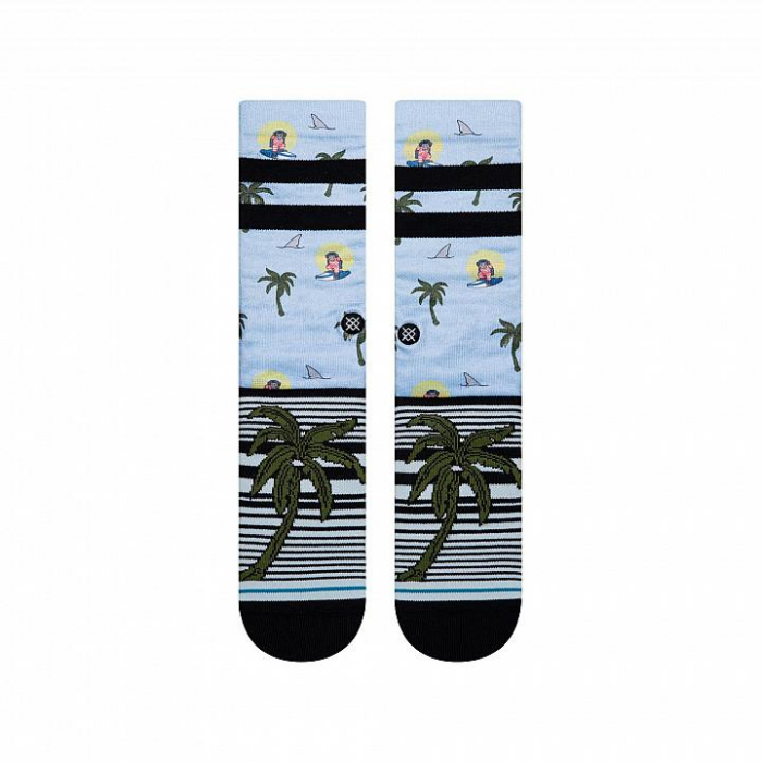 STANCE Aloha Monkey ST Light Blue 1