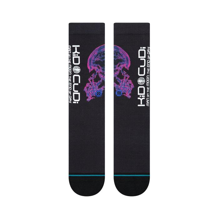 STANCE Kid Cudi Brains Black 1