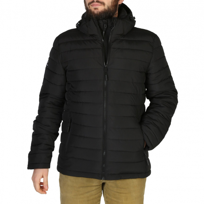 SUPERDRY Hooded Fuji Jacket Black 0
