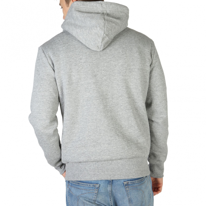 SUPERDRY Orange Label Classic Hoodie Soft Grey Marl 1