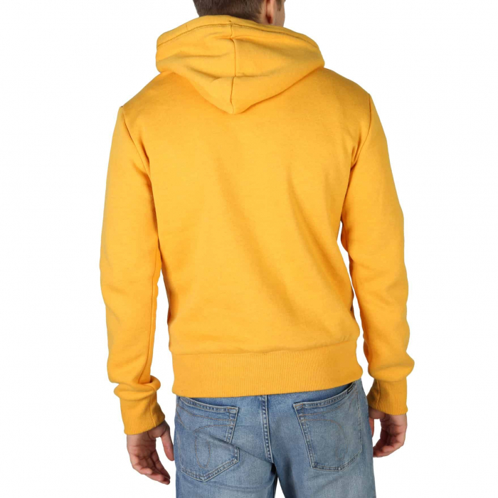 SUPERDRY Orange Label Classic Hoodie Upstate Gold Marl 1