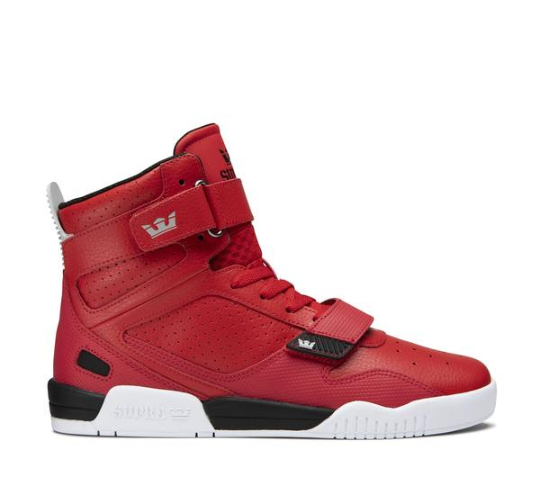 SUPRA BREAKER RED-BLACK/WHITE 0