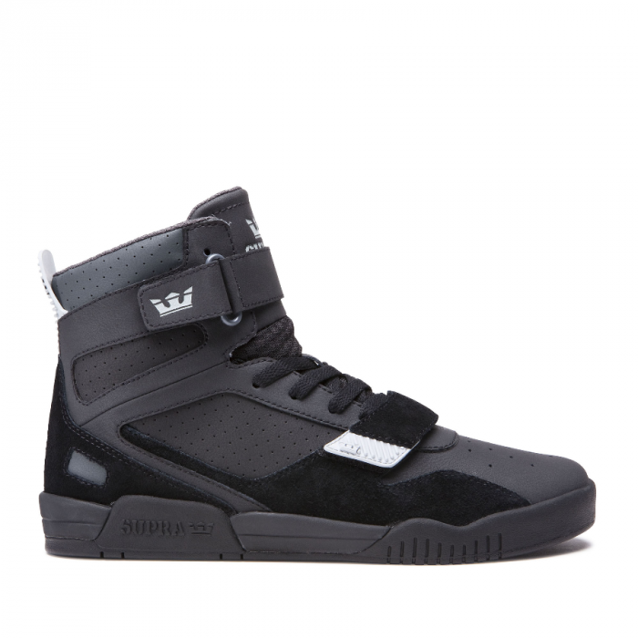 SUPRA BREAKER BLACK-LIGHT GREY/BLACK 0