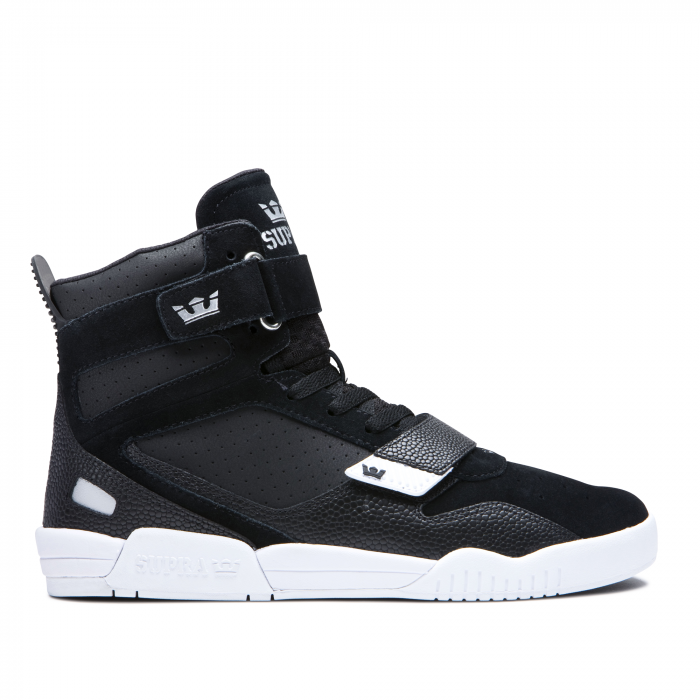 SUPRA BREAKER BLACK/SILVER-WHITE 0