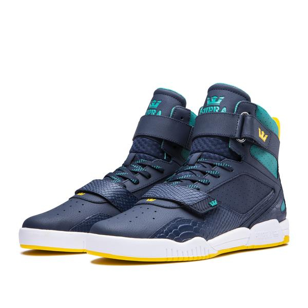 SUPRA BREAKER NAVY/TEAL-WHITE 3