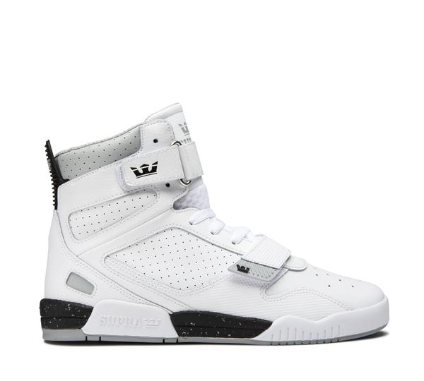 SUPRA BREAKER WHITE-BLACK/WHITE 0
