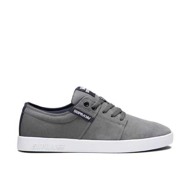 SUPRA STACKS II GREY/NAVY-WHITE 0