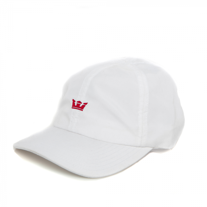 SUPRA CROWN RUNNER HAT WHITE/RED 0