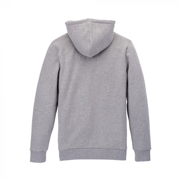 SUPRA ABOVE HOODED PULLOVER HEATHER GREY / GRID 1