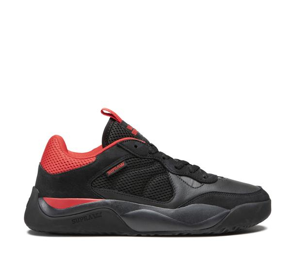 SUPRA PECOS BLACK/RED-BLACK 0