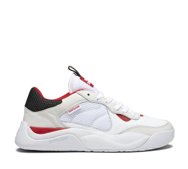 SUPRA PECOS WHITE/RED-WHITE 0