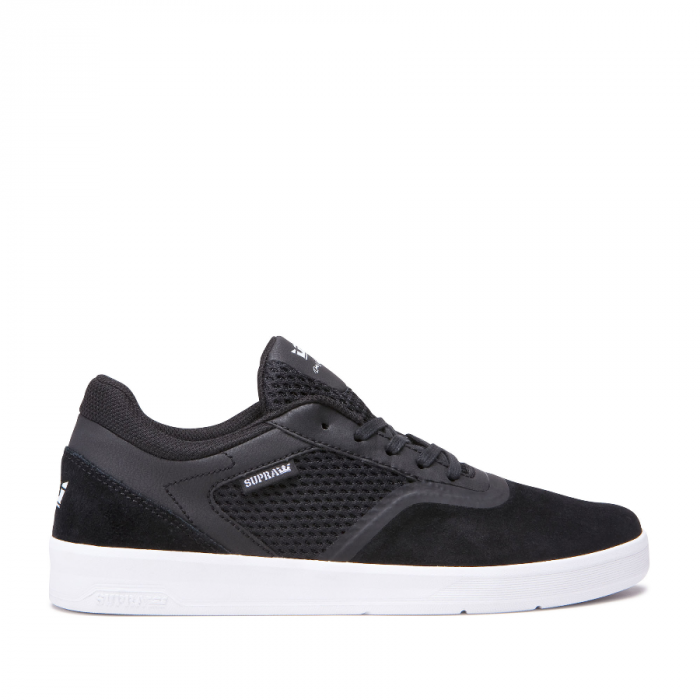 SUPRA SAINT BLACK-WHITE 0