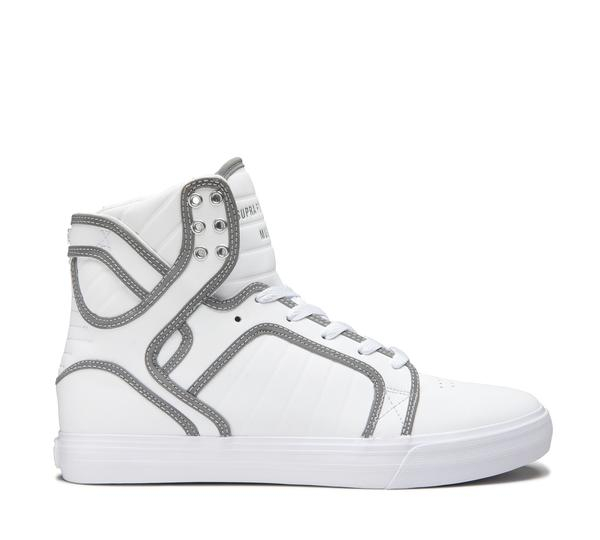SUPRA SKYTOP WHITE/REFLECT-WHITE 0