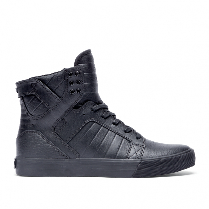 SUPRA SKYTOP BLACK / BLACK - RED 0