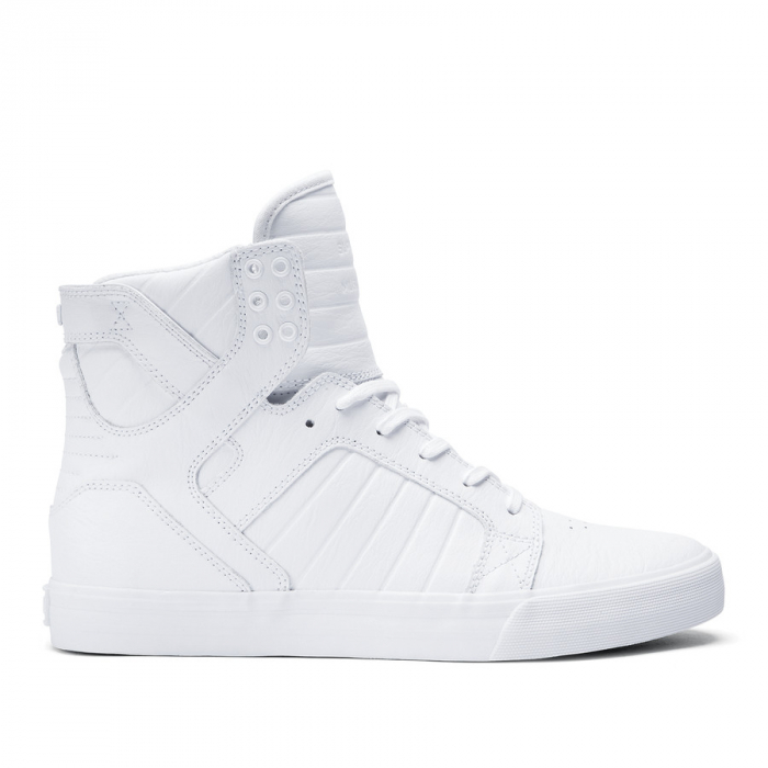 SUPRA SKYTOP WHITE / WHITE - RED 0