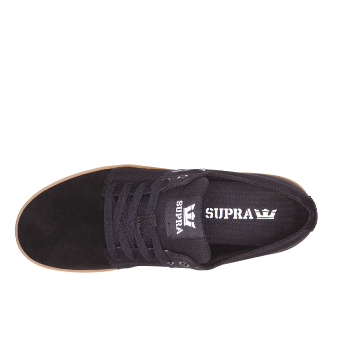 SUPRA STACKS II BLACK-GUM 1
