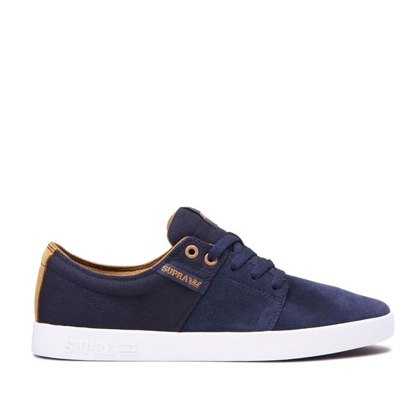 SUPRA STACKS II NAVY/TAN-WHITE 0
