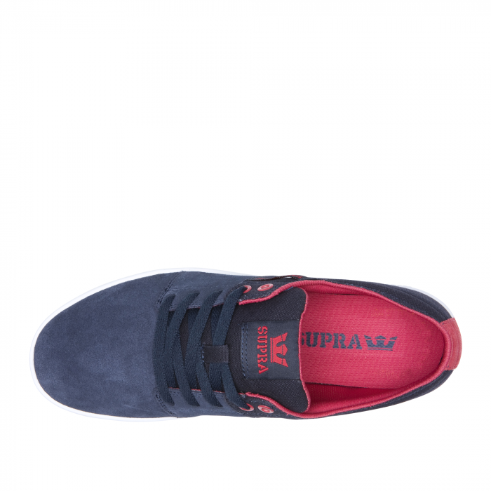 SUPRA STACKS II NAVY/ROSE-WHITE 2