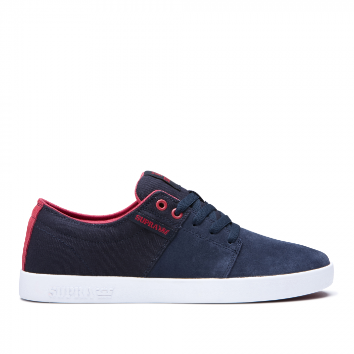 SUPRA STACKS II NAVY/ROSE-WHITE 0