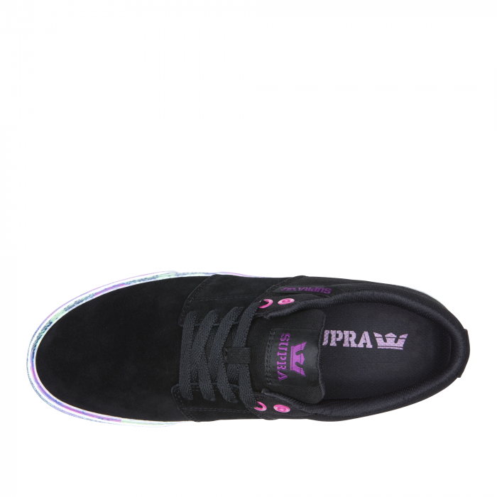 SUPRA STACKS II VULC BLACK-NEON ACID 1