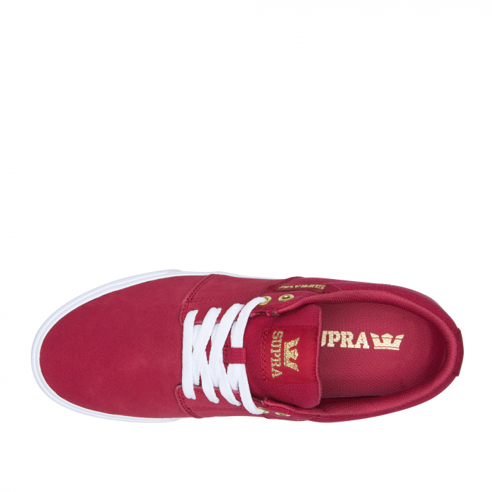 SUPRA STACKS II VULC ROSE-WHITE 3