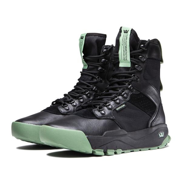SUPRA STANHOPE BLACK - BLACK / HEDGE 1
