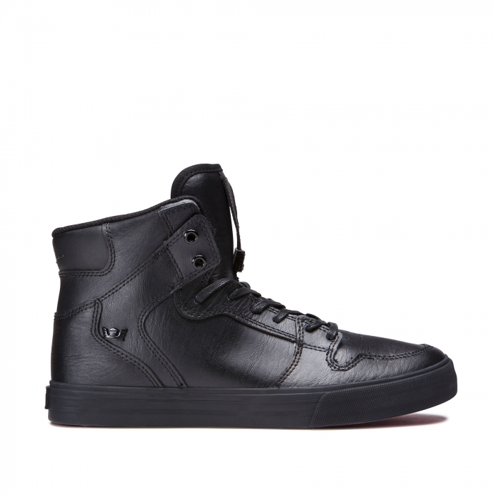 SUPRA VAIDER BLACK / BLACK - RED 0