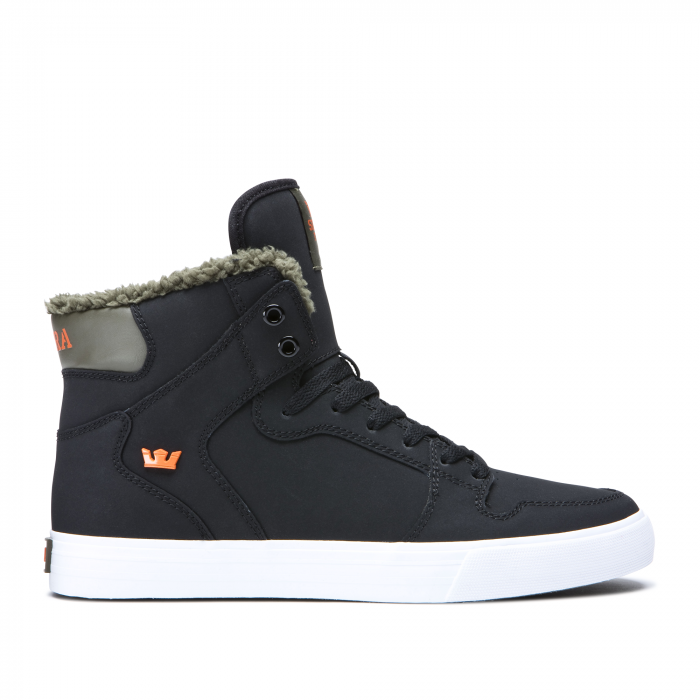 SUPRA VAIDER BLACK/OLIVE NIGHT-WHITE 0
