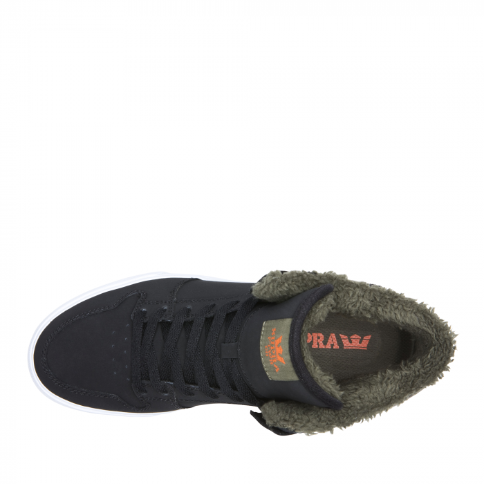 SUPRA VAIDER BLACK/OLIVE NIGHT-WHITE 3