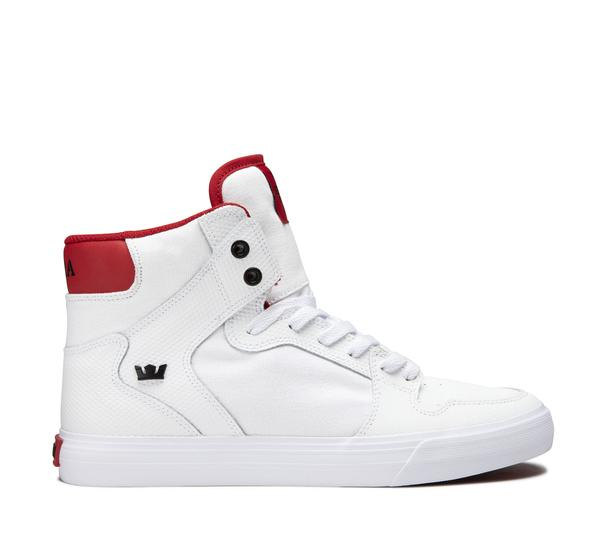 SUPRA VAIDER WHITE/RED-WHITE 0