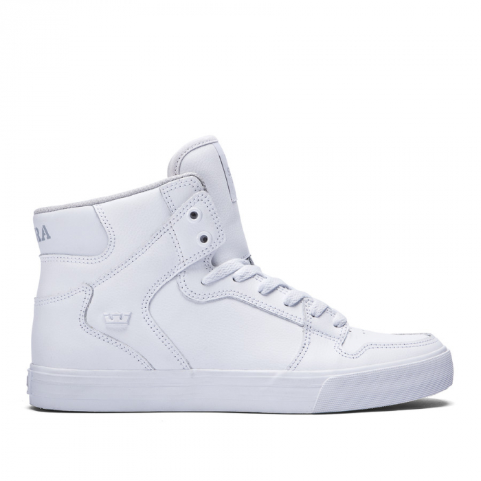 SUPRA VAIDER WHITE / WHITE - RED 0