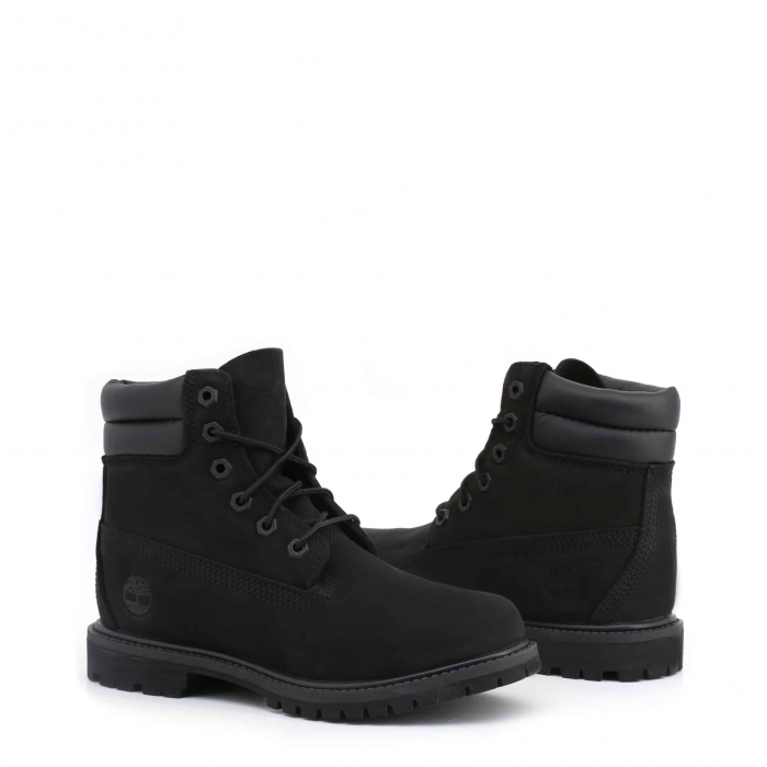 "TIMBERLAND 6"" Double Collar Boot Black 1"