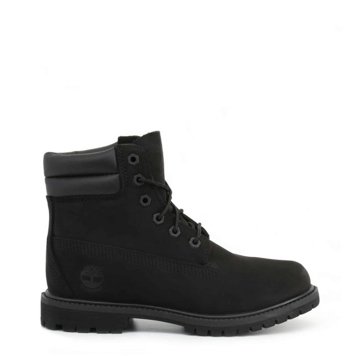 "TIMBERLAND 6"" Double Collar Boot Black 0"