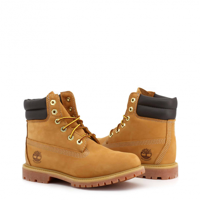 """TIMBERLAND 6"""" Double Collar Boot Wheat 1"""